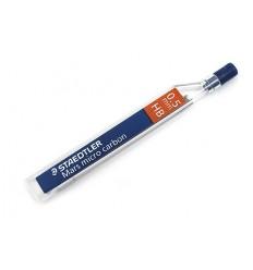 Стержни STAEDTLER mars micro carbon для мехаических карандашей, HB, 0.5 мм, 12шт/уп