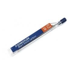 Стержни STAEDTLER mars micro carbon для мехаических карандашей, 2B, 0.5 мм, 12шт/уп