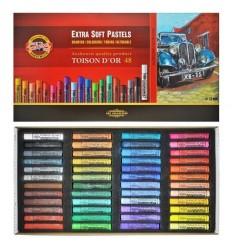 Пастель сухая KOH-I-NOOR TOISON D'OR extra-soft pastels, 48 цветов