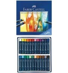 Масляная пастель FABER-CASTELL STUDIO QUALITY Goldfaber, 24 цвета