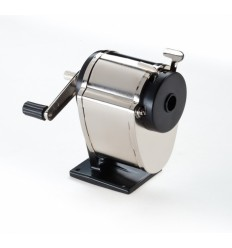 Точилка механическая Office Force 34004, металлическая, регулируемый диаметр до 12 мм