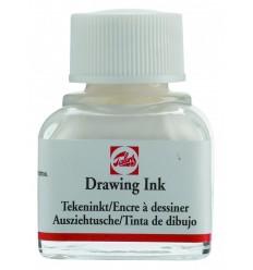 Тушь чертёжно-рисовальная Talens Drawing Ink, 11 мл., Цвет: №100 Белый