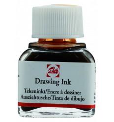 Тушь чертёжно-рисовальная Talens Drawing Ink, 11 мл., Цвет: №234 Сиена натуральная