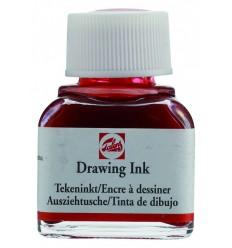 Тушь чертёжно-рисовальная Talens Drawing Ink, 11 мл., Цвет: №311 Киноварь