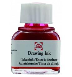Тушь чертёжно-рисовальная Talens Drawing Ink, 11 мл., Цвет: №334 Красный алый