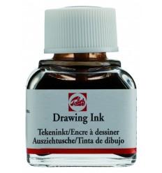 Тушь чертёжно-рисовальная Talens Drawing Ink, 11 мл., Цвет: №416 Сепия