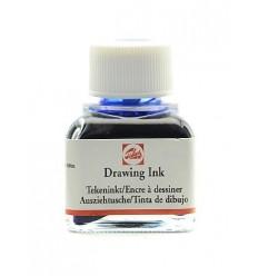 Тушь чертёжно-рисовальная Talens Drawing Ink, 11 мл., Цвет: №504 Ультрамарин