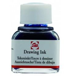 Тушь чертёжно-рисовальная Talens Drawing Ink, 11 мл., Цвет: №511 Кобальт синий