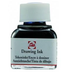 Тушь чертёжно-рисовальная Talens Drawing Ink, 11 мл., Цвет: №533 Индиго