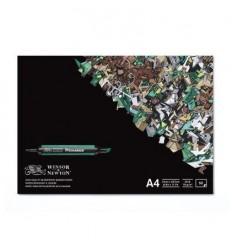 Альбом для маркеров WINSOR & NEWTON, А4 21*29.7см, 75гр/м.кв., 50л склейка