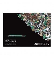 Альбом для маркеров WINSOR & NEWTON, А3 29.7*42см, 75гр/м.кв., 50л склейка