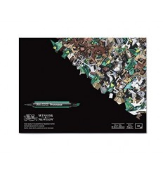 Альбом для маркеров WINSOR & NEWTON, 22.9х30.5см, 75гр/м.кв., 50л склейка
