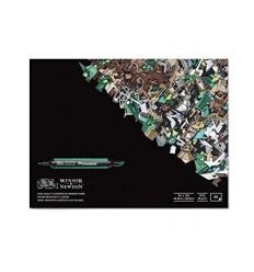 Альбом для маркеров WINSOR & NEWTON, 28х35.6см., 75гр/м.кв., 50л склейка