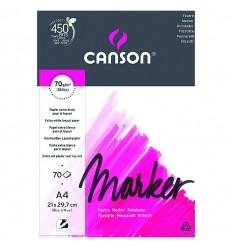 Альбом для маркеров Marker Layout CANSON, А3 29.7*42см., 75гр/м.кв., бумага экстра гладкая, 70л склейка