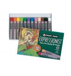 Набор пастели масляной Cray-Pas EXPRESSIONIST SAKURA, 12 цветов
