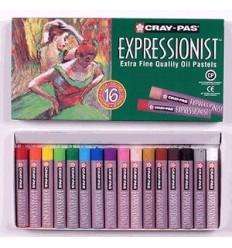Набор пастели масляной Cray-Pas EXPRESSIONIST SAKURA, 16 цветов