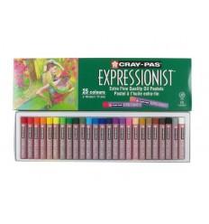 Набор пастели масляной Cray-Pas EXPRESSIONIST SAKURA, 25 цветов