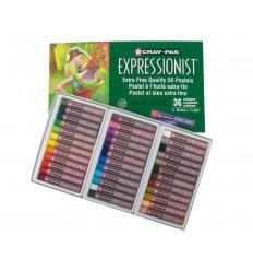 Набор пастели масляной Cray-Pas EXPRESSIONIST SAKURA, 36 цветов