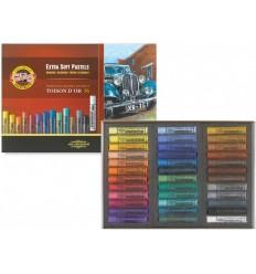 Пастель сухая KOH-I-NOOR TOISON D'OR extra-soft pastels, экстра мягкая, 36 цветов
