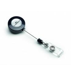Рулетка для бейджа Durable 8152-58 с выдвижным клипом до 80 см, 1шт