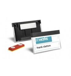 Бейдж с магнитным креплением Durable SELECT 8507, 30x60мм, черный