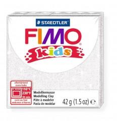 Глина полимерная STAEDTLER FIMO kids, 42г. -  блестящий белый