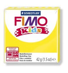 Глина полимерная STAEDTLER FIMO kids, 42г. - желтый