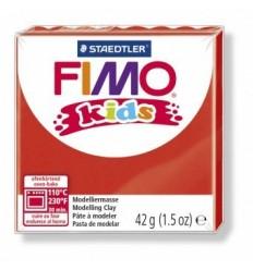 Глина полимерная STAEDTLER FIMO kids, 42г. - красный