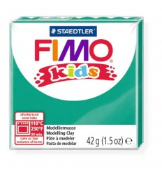 Глина полимерная STAEDTLER FIMO kids, 42г. - зеленый