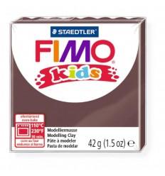 Глина полимерная STAEDTLER FIMO kids, 42г. - коричневый