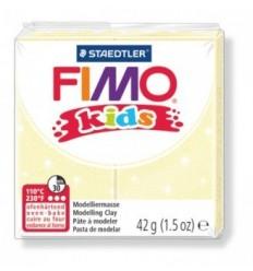 Глина полимерная STAEDTLER FIMO kids, 42г. - перламутровый светло-желтый