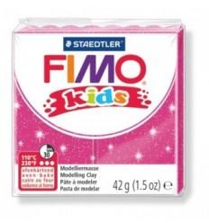 Глина полимерная STAEDTLER FIMO kids, 42г. - блестящий розовый