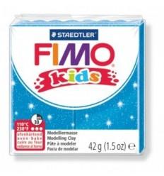 Глина полимерная STAEDTLER FIMO kids, 42г. - блестящий синий