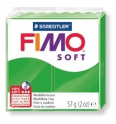 Глина полимерная STAEDTLER FIMO Soft, 57г. - тропический зеленый