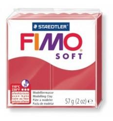Глина полимерная STAEDTLER FIMO Soft, 57г. - вишневый