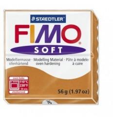 Глина полимерная STAEDTLER FIMO Soft, 57г. - коньяк