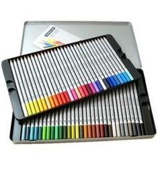 Набор акварельных цветных карандашей STAEDTLER Karat Aquarell, 60 цветов в металлической коробке