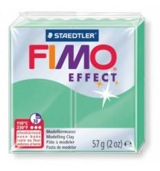 Глина полимерная STAEDTLER FIMO Effect, 57г. - зеленый нефрит