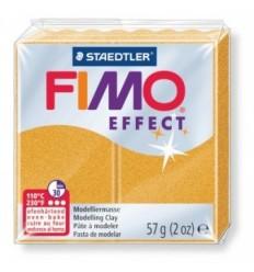 Глина полимерная STAEDTLER FIMO Effect, 57г. - золотой металлик