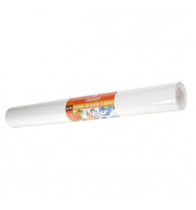 Бумага рисовальная CANSON 90г/м.кв 0.5*5м белая в рулоне