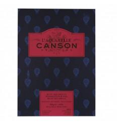 Альбом для акварели CANSON Heritage Satin (Сатин), 300гр., 26*36см  12л, мелкое зерно, склейка