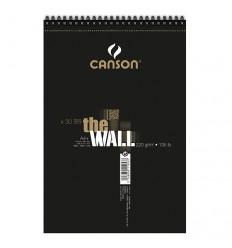 Альбом для маркеров CANSON The Wall А4+ 21*31.4см, 220гр., 30л., спираль