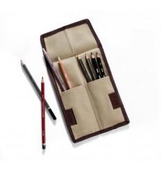 Пенал карманный DERWENT для 12 карандашей