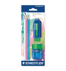 Набор для черчения STAEDTLER Limited edition, 3 шт чернографит. карандаша, ластик, точилка