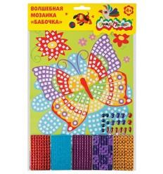 Волшебная мозаика БАБОЧКА Каляка-Маляка
