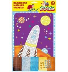 Волшебная мозаика РАКЕТА Каляка-Маляка