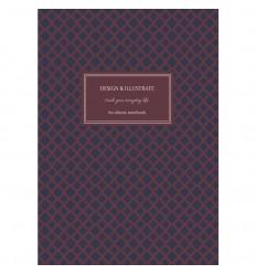 Альбом для эскизов Kroyter Эко, А4 (207x294мм), 60л., 80гр., серая бумага, твердая обложка, спираль