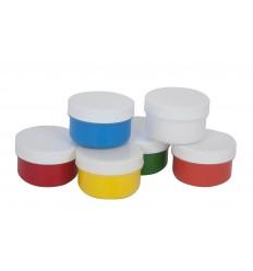 Пальчиковые краски сенсорные Каляка-маляка, 6 цветов по 60мл