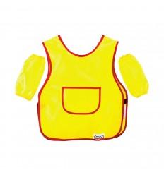 Фартук для труда с нарукавниками Каляка-Маляка, ткань, 2-5 лет, желтый