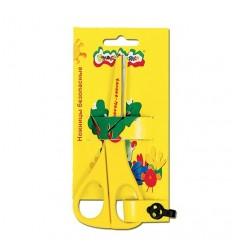 Ножницы детские безопасные Каляка-маляка, метал. лезвиями в пластике, 135мм